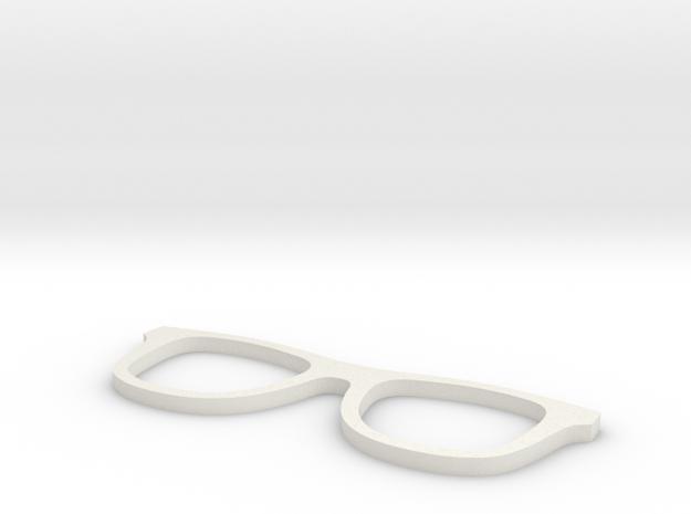 Glasses in White Natural Versatile Plastic