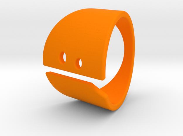SAD! in Orange Processed Versatile Plastic