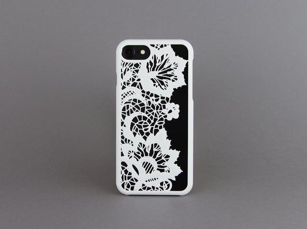 Lace - iphone 7 case in White Natural Versatile Plastic