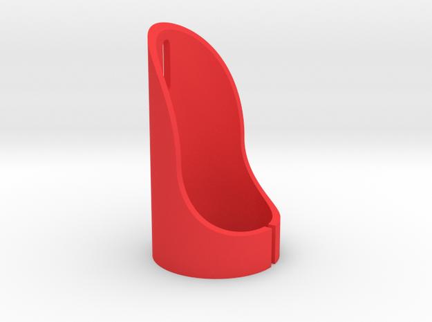 the BASIC - Lightsaber Emitter Shroud in Red Processed Versatile Plastic