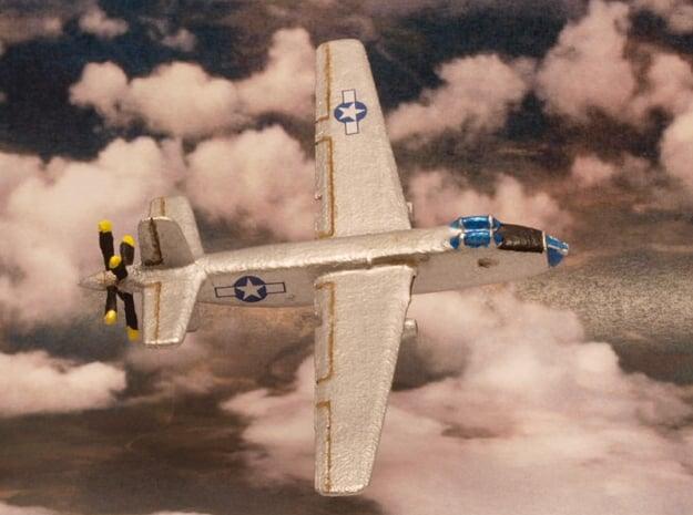 Douglas XB-42 Mixmaster pair (In Flight) 1/285 6mm in White Natural Versatile Plastic