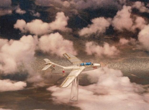 Lavochkin La-15 Fantail (3 planes set) 6mm 1/285 in White Natural Versatile Plastic