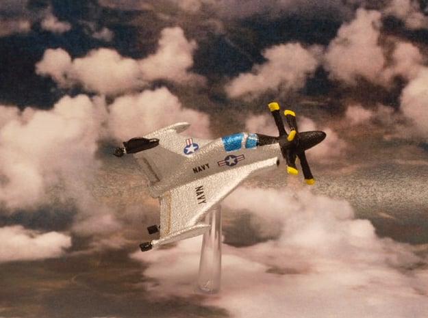 Convair XFY-1 Pogo 1/285 6mm in White Natural Versatile Plastic