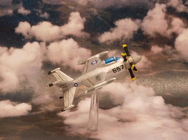 Lockheed XFV-1 Salmon 6mm 1/285 in White Natural Versatile Plastic