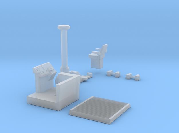Rome 450C Detail Kit (Less Rims) in Smooth Fine Detail Plastic