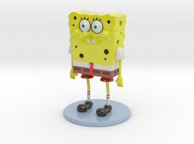 Sponge you in Glossy Full Color Sandstone