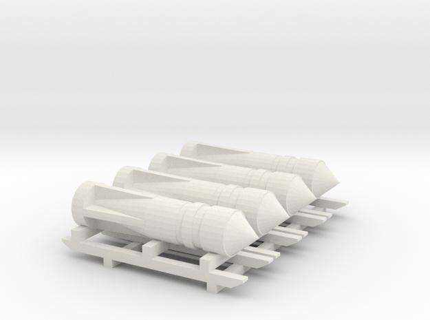 1/100 Bombe H-111 100 001 (rep) in White Natural Versatile Plastic