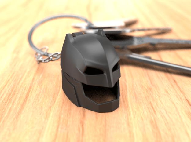 Batman Keychain in Black Natural Versatile Plastic