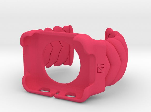 V CUFF  Small Apple Watch 42mm Case  in Pink Processed Versatile Plastic