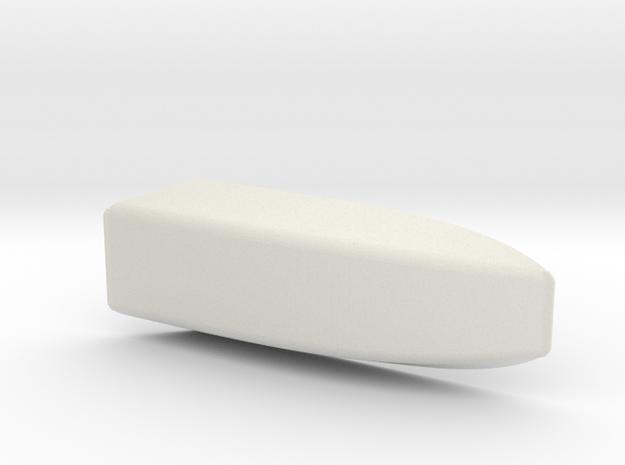 SUNOCO HOOD SCOOP in White Natural Versatile Plastic