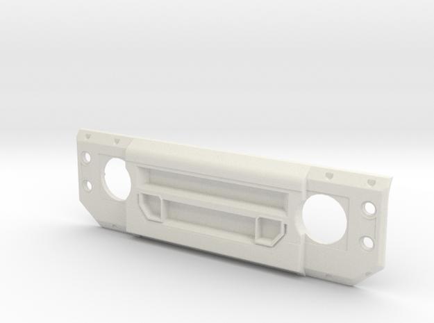 1/10 Scale LAND ROVER DEFENDER X-LANDER GRILL in White Natural Versatile Plastic