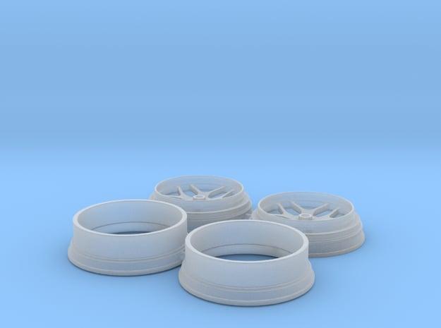 15 inch Billet Specialties Win Lite Front 1/25 in Smooth Fine Detail Plastic