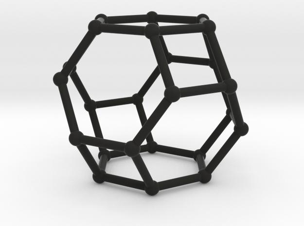 Hexaedron in White Natural Versatile Plastic