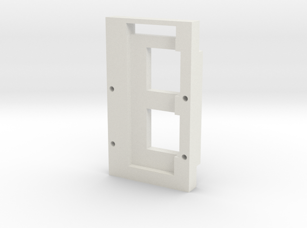 DNA60 Board/Large Screen Cradle in White Natural Versatile Plastic