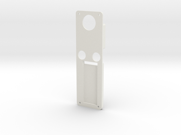 DNA60 Mounting Plate Large Screen in White Natural Versatile Plastic