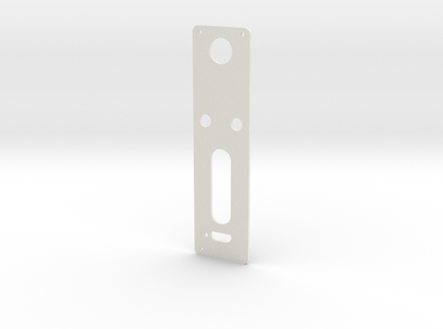 DNA60 Template - Mounting Plate Large Screen w/USB in White Natural Versatile Plastic