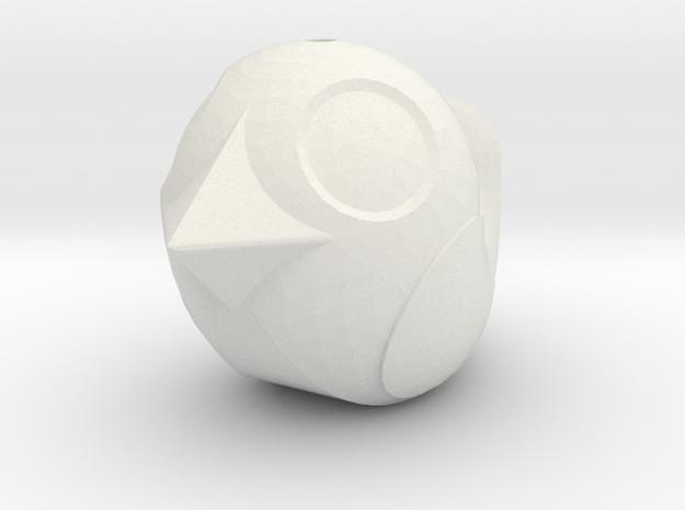 Flight Mode Maxi in White Natural Versatile Plastic