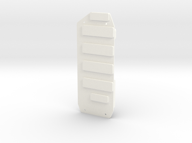 Invencer Battery Tray, LH in White Processed Versatile Plastic