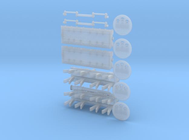 Titanic Engine Room Set  in Smoothest Fine Detail Plastic