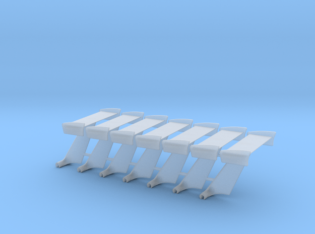 Wings, 7 Pack in Smooth Fine Detail Plastic