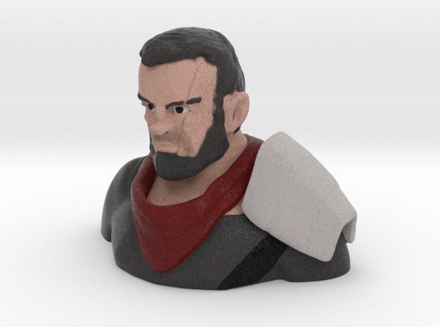 Kol bust  in Full Color Sandstone