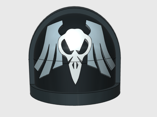 10x Raven Skulls - G:7a Shoulder Pads
