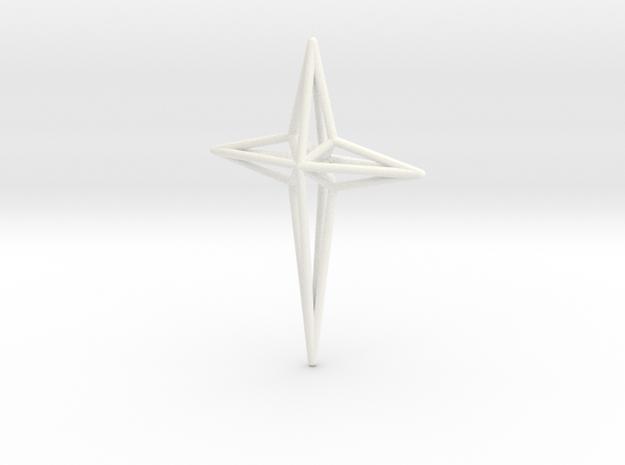 Star 7x5x1 D2 in White Processed Versatile Plastic