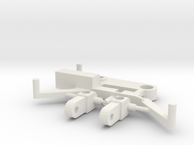 SP6 Spare Parts for CK6 Chassis Kit in White Natural Versatile Plastic
