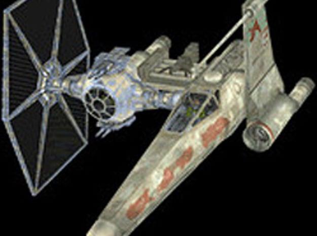 Vornskr Fighter in White Natural Versatile Plastic