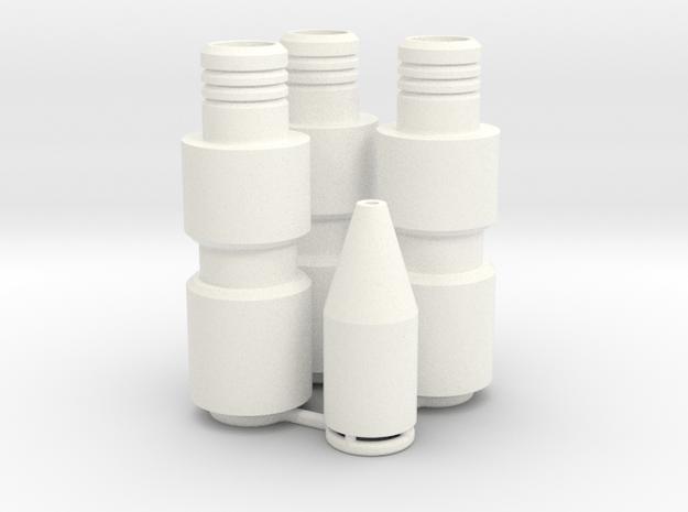 Knee Darts Set in White Processed Versatile Plastic