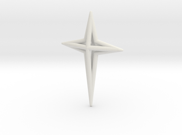 Star 7x5x1 D3 in White Natural Versatile Plastic