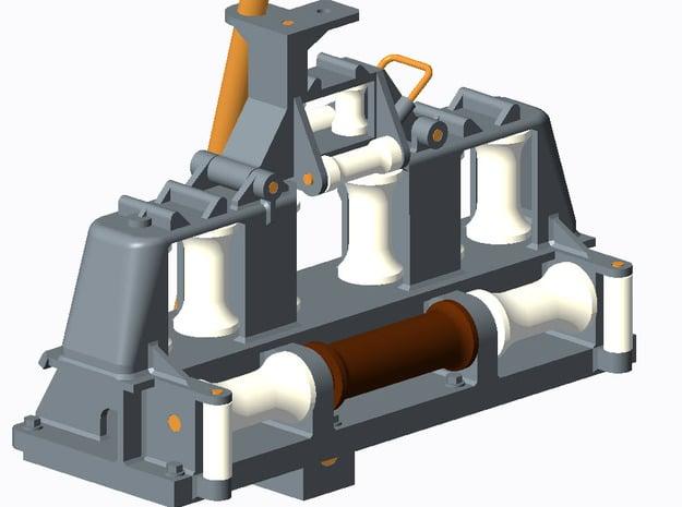 Rollenbock BM-Boot 1:40 in Smooth Fine Detail Plastic