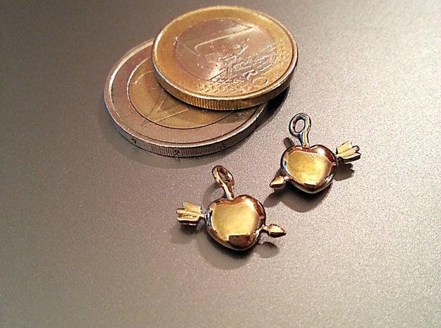 Heart Earrings in 18K Gold Plated