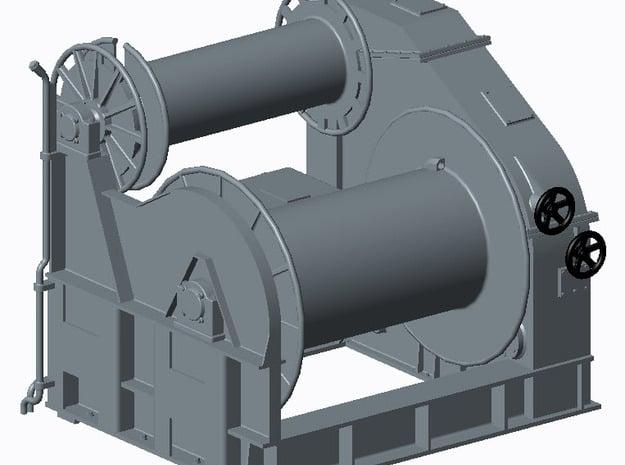 Kabeltrommel SM/BM-Booot 1:40 in Smooth Fine Detail Plastic