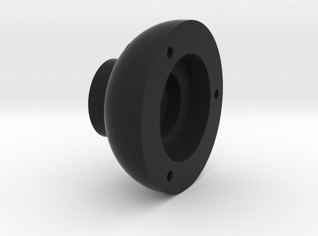 BULLET TRAILING ARM HUB in Black Natural Versatile Plastic