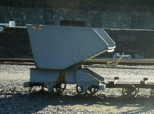 009 Dinorwric/Penrhyn waste wagon  in Smooth Fine Detail Plastic