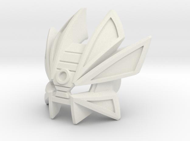 Mask Of Time Pedastal in White Natural Versatile Plastic