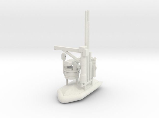 1/144 Cyclone Class PC Parts in White Natural Versatile Plastic