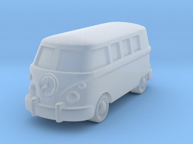 Minibus in Smooth Fine Detail Plastic