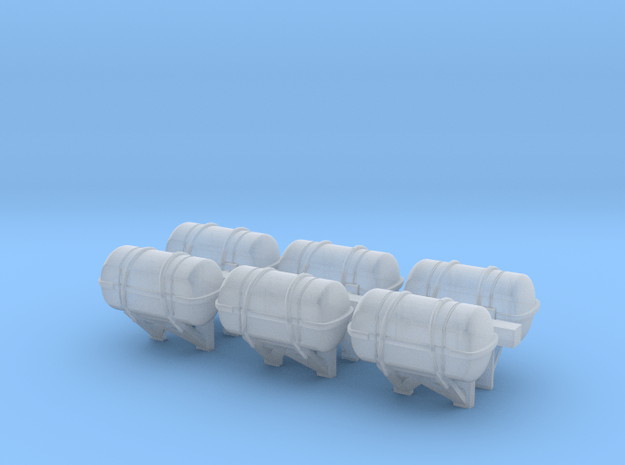 1:200 scale LifeBoat Canister - Wall