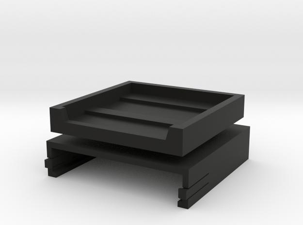 Brahma Remote Control cover in Black Natural Versatile Plastic