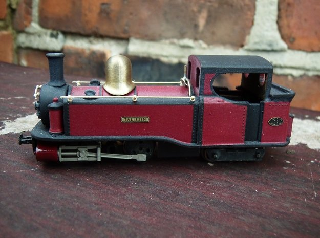 Single Fairlie cab conversion for Taliesin 009 in Smooth Fine Detail Plastic