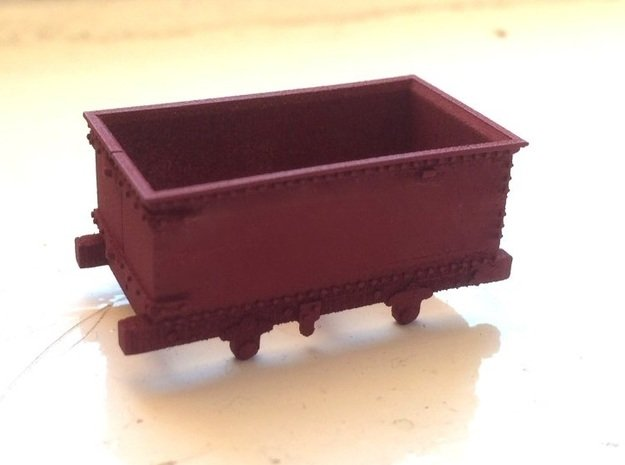 009 Corris Rly 'Queen Mary' in Smooth Fine Detail Plastic