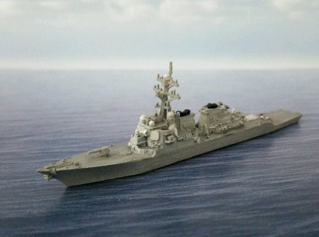 1/2000 USS Arleigh Burke in Smooth Fine Detail Plastic: 1:2000