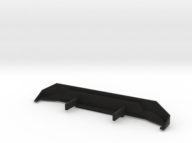 SCX10 Rear Bumper in Black Natural Versatile Plastic