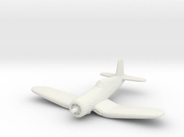 Vought F4U-1 'Corsair' in White Natural Versatile Plastic: 1:200