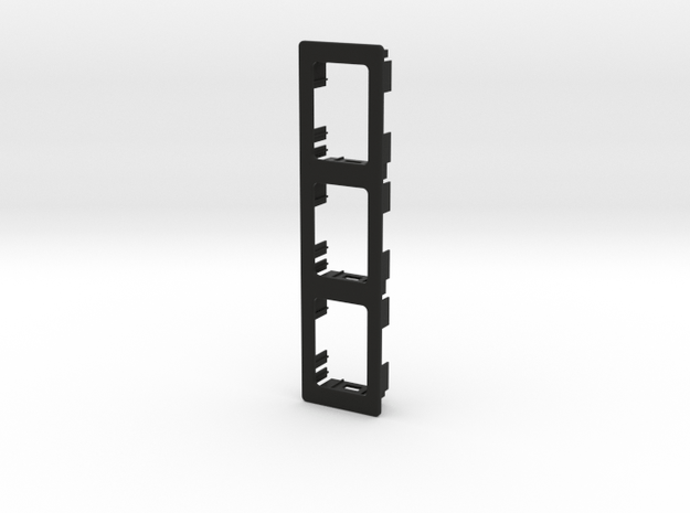 3x XJ/TJ OEM Vertical Panel 133mmx33mm in Black Natural Versatile Plastic