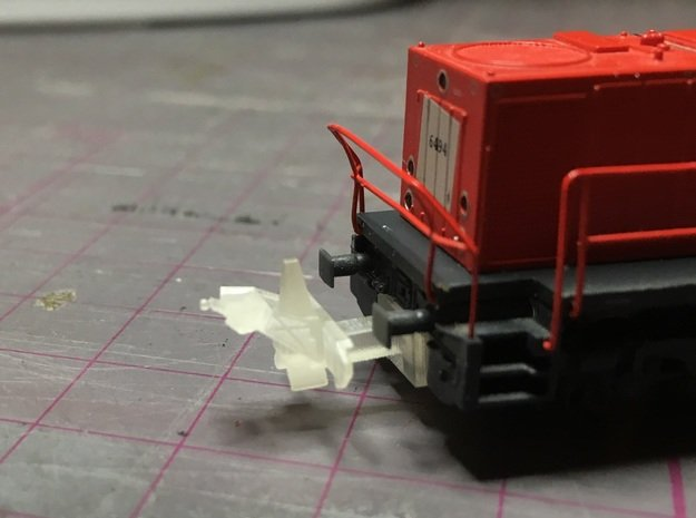 Fugro RILA N Scale  in Smoothest Fine Detail Plastic
