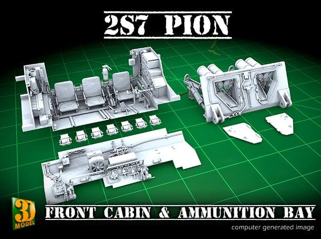 2S7 PION Interior set 1 in Smooth Fine Detail Plastic