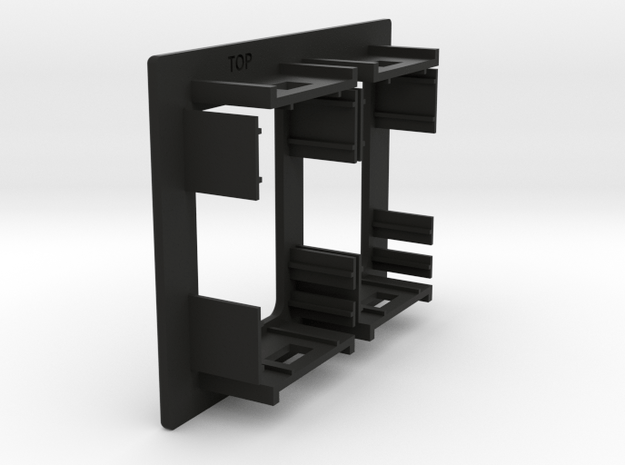 2 OEM side by side panel 65mm Wide X 50mm Tall in Black Natural Versatile Plastic